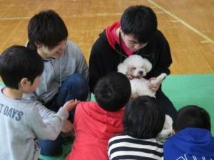 どうぶつのチカラ♪子供の笑顔プロジェクト☆
